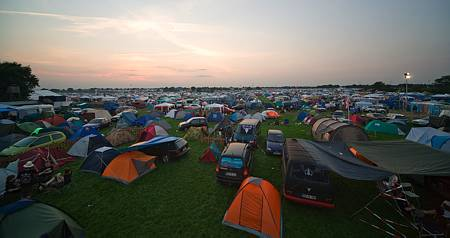 camping ground at Wacken Open Air